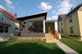 narrow lot homes narrow lot modern infill house plans models pageplucker design
