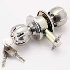 bedroom door lock with key new 60mm indoor door lock cylindrical ball with key lock core