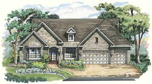 Get A Home Plan Com Luxury Home Plans For The Oakdale 1046f Arthur Rutenberg Homes