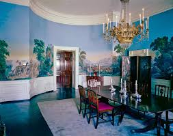 White House Dining Room View Of President John F Kennedy U0027s Rooms White House In 1962