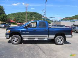 atlantic blue pearl 2006 dodge ram 2500 slt quad cab exterior