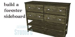 Large Sideboards Plans U2013 Page 30 U2013 Designs By Studio C