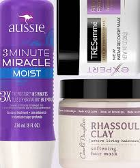 best hair masks for dry damaged hair drugstore hair masks that fix dryness instyle com