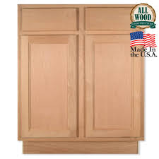 cabinet unfinished base kitchen cabinets assembled x in base unfinished kitchen base cabinets oak quicua full size