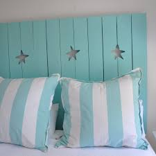Headboards Made From Shutters Jane Coslick Cottages Stars Of The Sea Shutter Headboard