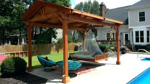 Trampoline Hanging Bed by Articles With Hanging Porch Beds Plans Tag Astonishing Swinging