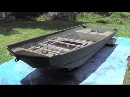 14 u0027 lowe jon boat painting part 4 paint the boat d youtube