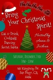 customizable design templates for christmas party invite