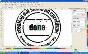 membuat efek stempel dengan photoshop corel draw tutorial creating old st youtube