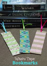 how to make washi tape bookmarks suburbia unwrapped
