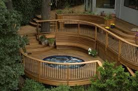 decks com building a round or curved deck
