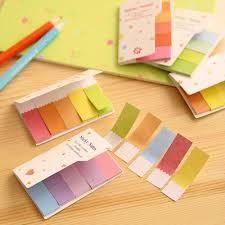 rainbow sticky notes colorful sticky notes cute sticky notes