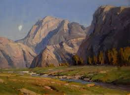 Mountain Landscape Paintings by 167 Best Realistic Landscape Painting Images On Pinterest