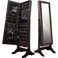 jewlery armoire mirror 38 mirror storage jewelry armoire 967vm5062c 2 laisumuam org