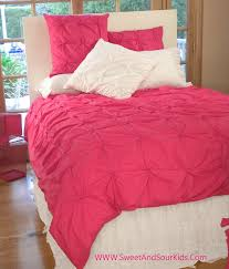 girls bed quilts pink and white girls bedroom ideas wooden bed connected with