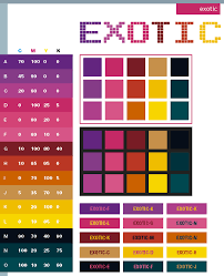 color cheme exotic color schemes color combinations color palettes for print