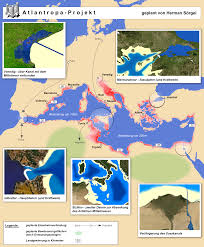 Map Of Mediterranean Europe by Damming The Mediterranean The Atlantropa Project