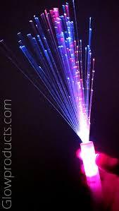 fiber optic light strands fiber optic wands multi color wedding dark and sparklers