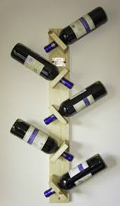 dining room mdf zigzag wall mounted wine rack decorative wine