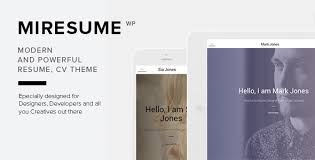 vc resume vc templates from themeforest