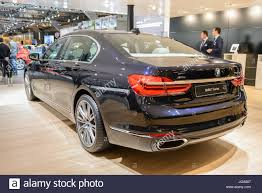 luxury bmw 7 series bmw 7 series 750 ld x drive luxury limousine car rear view the