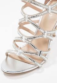 aldo liah high heeled sandals silver women shoes strappy aldo