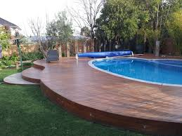 Unusual Decking Ideas by Unusual Curved Deck Around A Pool Decking Pinterest Decking