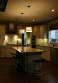 pendant lights above kitchen island voluptuo us