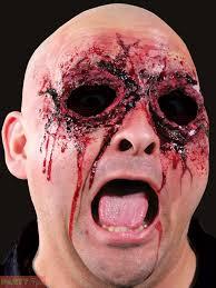 halloween prosthetic mask halloween woochie latex kit prosthetic zombie vampire burn injury