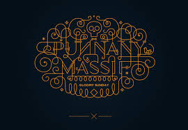ornamental lettering on behance in typography