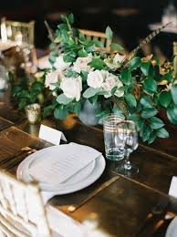 Table Decorations With Feathers 7 Colorful Fall Wedding Centerpiece Ideas Brides