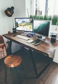 Diy Desk Decor Ideas Industrial Desk Ideas Desk Ideas