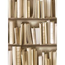 designer wallpaper contemporary bookcase design with white and