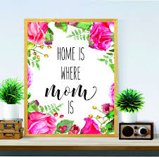 gift for mom home is where mom is christmas gift for mom mother s day gift mom