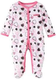 hello baby newborn footed coverall and bib