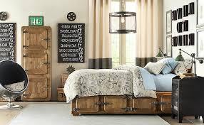 Rustic Vintage Bedroom - boys bedroom ideas vintage industrial bedroom furniture style