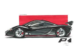 mclaren logo drawing mclaren p1 jalen vasquez