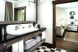 Distressed Wood Bathroom Vanity Reclaimed Wood Bathroom Mirrorreclaimed Wood Vanity Mirror Gray