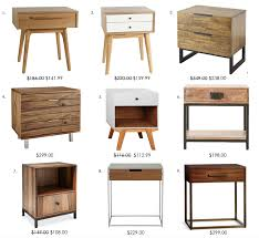 modern nightstands under 300 00 danielle oakey interiors