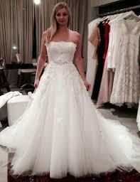 a line princess wedding dress vintage a line princess wedding dress strapless lace appliques