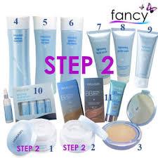 Bedak Wardah Step 2 jual step 2 wardah lightening series paket lengkap 11 produk pilihan