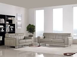 Diamond Furniture Living Room Sets by Vera Leatherette Sofa And Loveseat 2 Piece Set In Sandstone