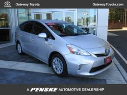 2012 toyota prius in 2012 used toyota prius v 5dr wagon two at gateway toyota serving