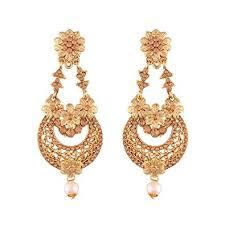 6 Beautiful Chandelier Earrings You Buy I Jewels Gold Plated Traditional Chandelier Earrings For Women
