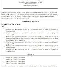 Printable Resume Template Inspiring Idea Printable Resume Template 2 Best 25 Free Ideas On