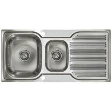 Stainless Steel Sink  Astini - Brushed stainless steel kitchen sinks