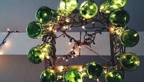 Diy Bottle Chandelier Diy Glass Bottle Chandelier My Fair Olinda