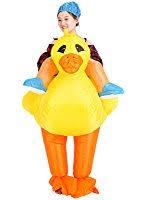Duck Halloween Costume Amazon Airblown Inflatable Rubber Duckie Duck Racer