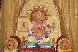 Home Ganpati Decoration Shrimant Dagdusheth Halwai My Lord Ganesha