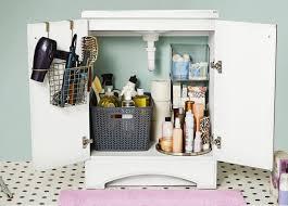bathroom under sink storage interior design